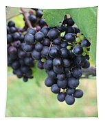 Purple Grape Bunches 20 Tapestry