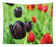Purple Tulip Tapestry