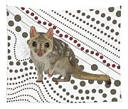Q Is For Quoll Tapestry