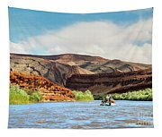 Rafting On The San Juan River Tapestry