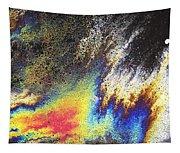 Rainbow Explosion Tapestry