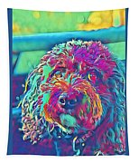 Rainbow Pup Tapestry