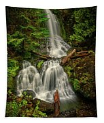 Rainier Falls Creek Falls Tapestry
