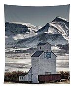 Ranchland Elevator Tapestry by Brad Allen Fine Art