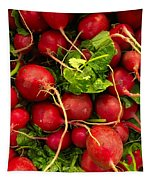 Red Radishes Tapestry