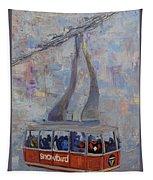 Red Tram Tapestry
