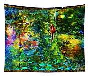 Redbird Singing Songs Of Love In The Tree Of Hope Tapestry