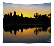Reflections Of Angkor Tapestry