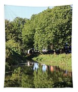Reflections Of Bridgewater Canal - 1 Tapestry