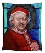 Rembrandt Santa Tapestry
