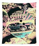 Retro Roadvival Tapestry