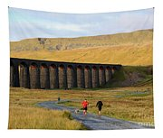 Ribblehead Viaduct In Late Autumn North Yorkshire Tapestry