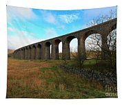 Ribblehead Viaduct On The Settle Carlisle Railway North Yorkshire Tapestry
