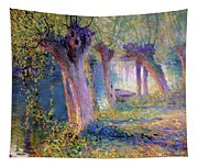 River Epte Giverny 1910  Tapestry