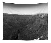 Rock Formations On The Edge Tapestry