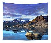 Rock Reflection Landscape Tapestry