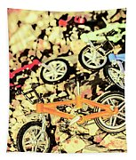 Rocky Racers Tapestry