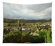 Rooftops Of Ambleside In Early Morning In The Lake District Tapestry
