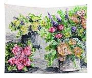 Rose Bundles Tapestry