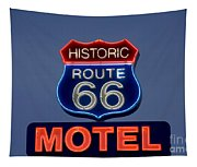 Route 66 Motel Tapestry