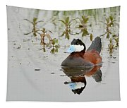 Ruddy Duck, Plumas County California Tapestry