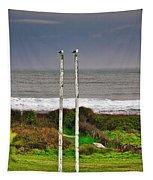 Rugby Goal - Hokitika - New Zealand Tapestry