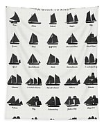 Sailing Vessel Types And Rigs Tapestry