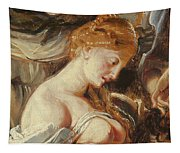 Samson And Delilah, Detail Of Delilah Tapestry