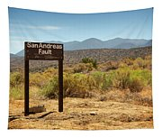 San Andreas Fault Tapestry