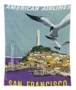 San Francisco American Airlines Tapestry