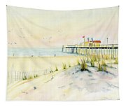 Sand Dunes At Ocean City Beach Maryland Tapestry