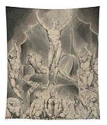 Satan Calling Up His Legions Tapestry