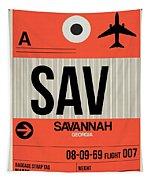 Sav Savannah Luggage Tag I Tapestry