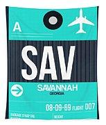 Sav Savannah Luggage Tag II Tapestry