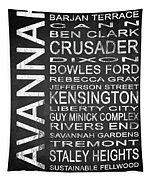 Savannah Ga 4 Tapestry