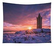 Scrabo Winter Sunrise Tapestry