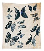 Scrapbook Butterflies Tapestry