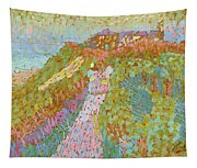 Sea And Dunes In Domburg Tapestry