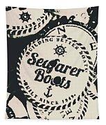 Seaside Sailors Badge Tapestry