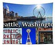 Seattle Washington Waterfront 01 Tapestry