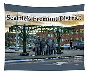 Seattle's Fremont District  Tapestry