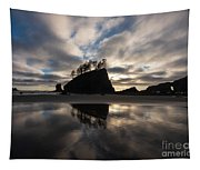 Second Beach Seastack Clarity Tapestry