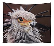 Secretary Bird Tapestry
