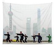 Shanghai Morning Tai Chi Tapestry