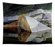 Shawanaga Rock And Reflections I Tapestry