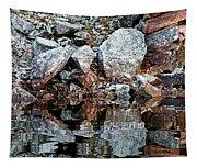 Shawanaga Rock And Reflections Vi Tapestry