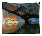 Shawanaga Rock And Reflections Xi Tapestry