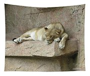 She Lion Tapestry