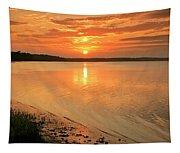 Shoreline Sunset Tapestry