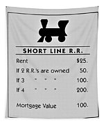 Short Line R.r. Tapestry